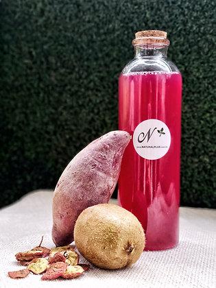 Purple Sweet Potato Kiwi Hawthorn Enzyme Drink