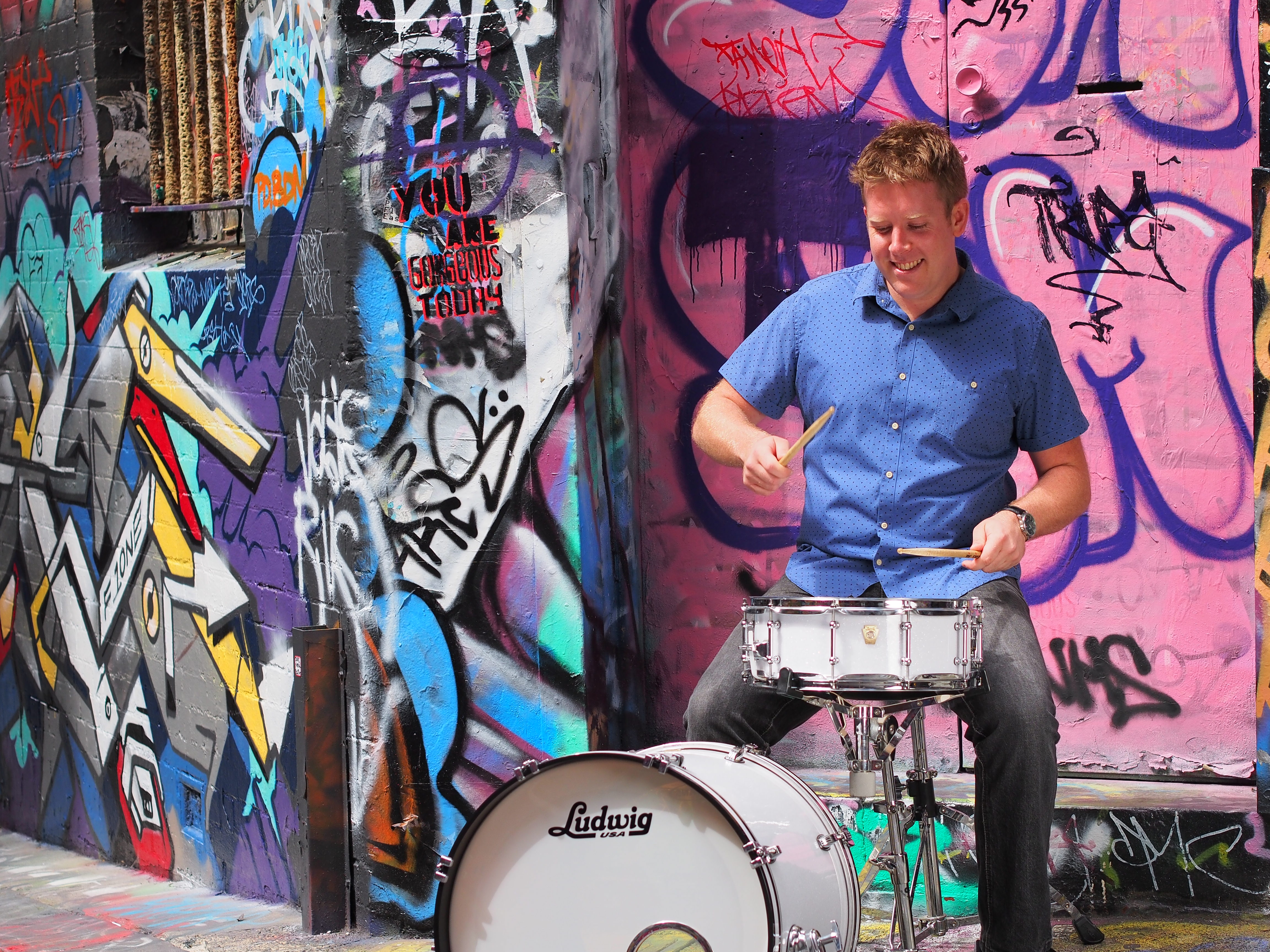 Alley drums