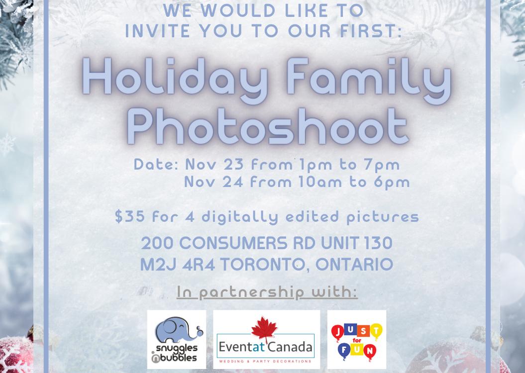 Holiday Family Photoshoot