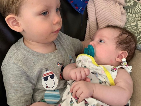 Becoming a mom of two