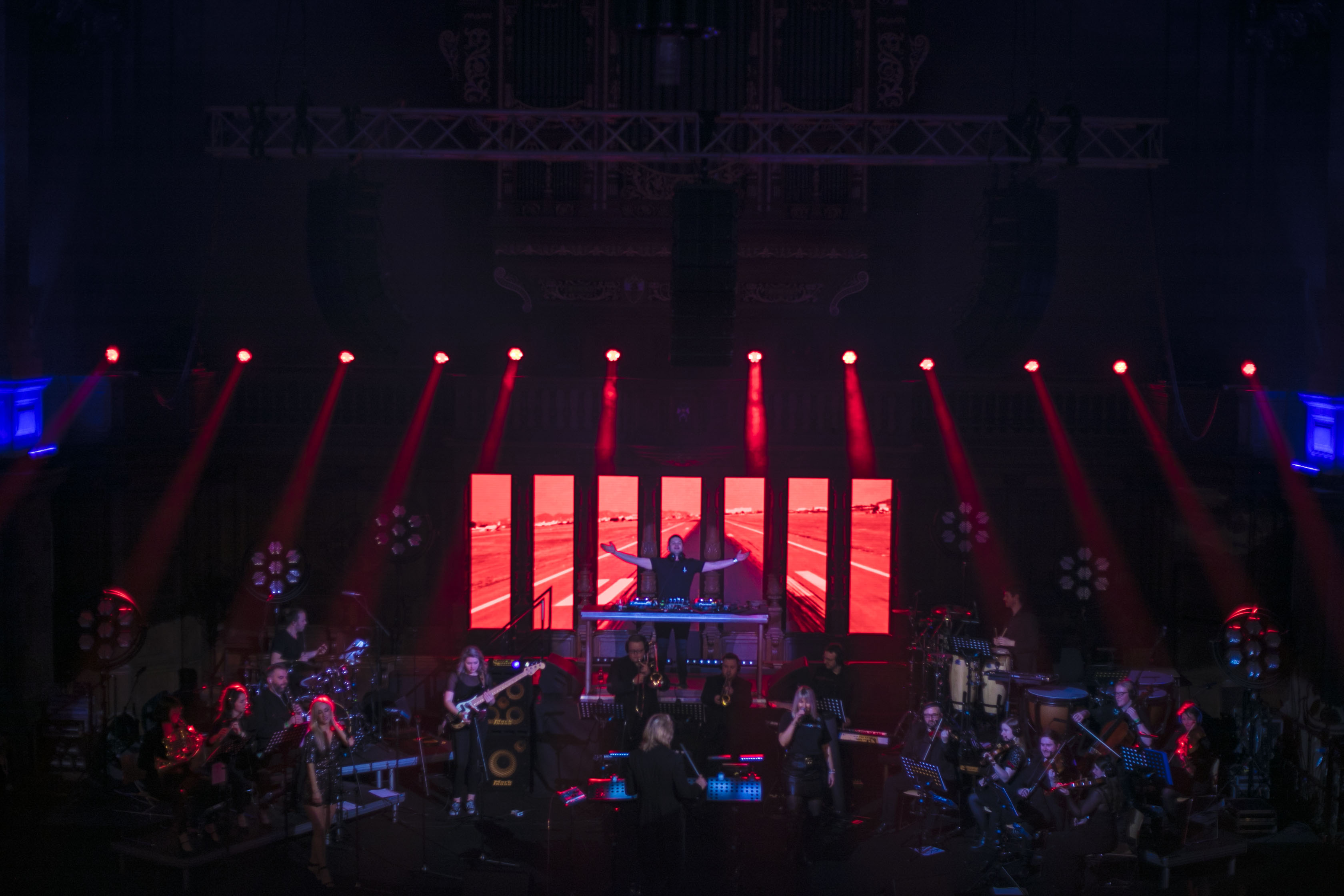 Live visuals for Symphonic Ibiza for Edi