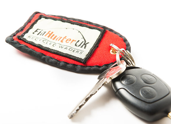 Red Tag Key ring