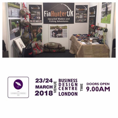 London Fly Fishing Fair huge success, roll on 2018