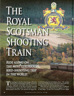 Royal Scotsman - Sports Afield Sep-Oct 2011-A