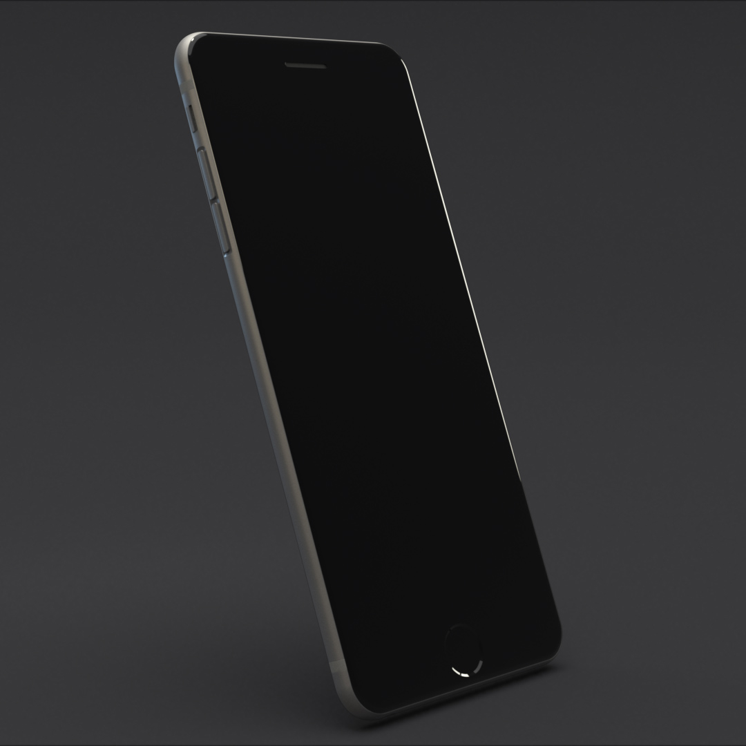 iPhone 6 - Modelling & Shading test