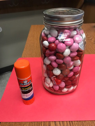 Valentine's Day Candy Counting Contest