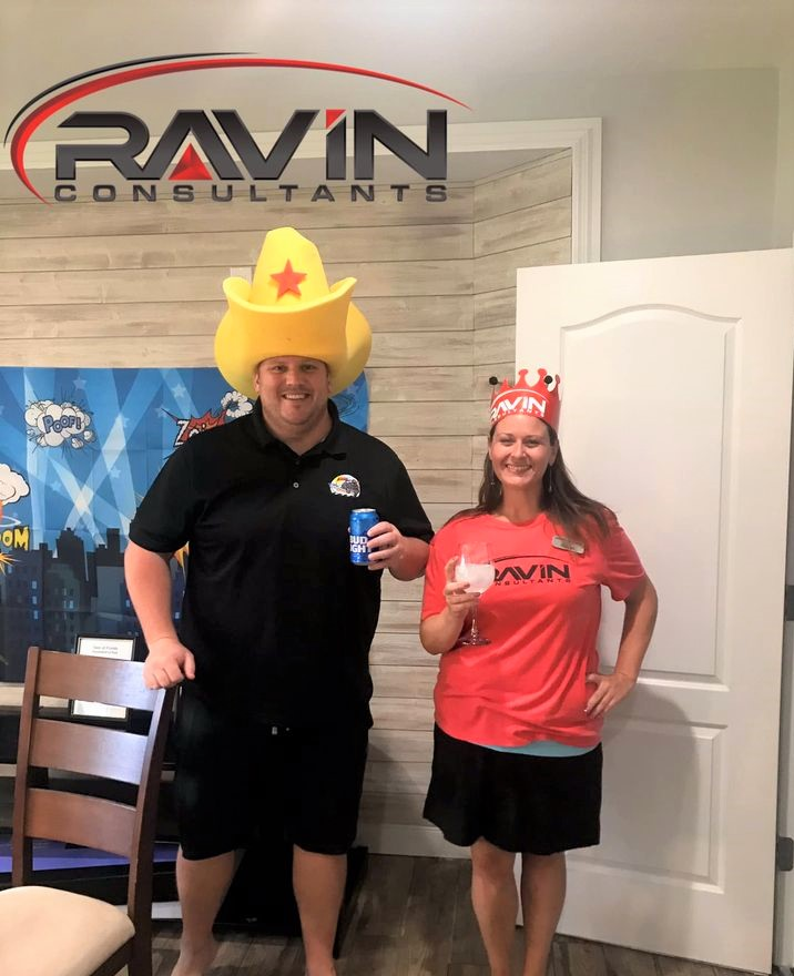 Ravins first virtual Happy Hour was a HIT!