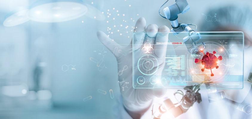 Medicine doctor and robotics research an