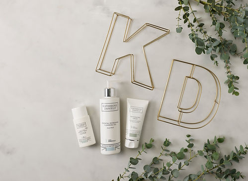 KD Overhead Lifestyle with three product