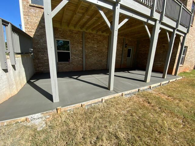 Concrete Under Deck Quote tecnoconcrete.com