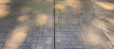 Decorative Concrete Patio Stone Stamped
