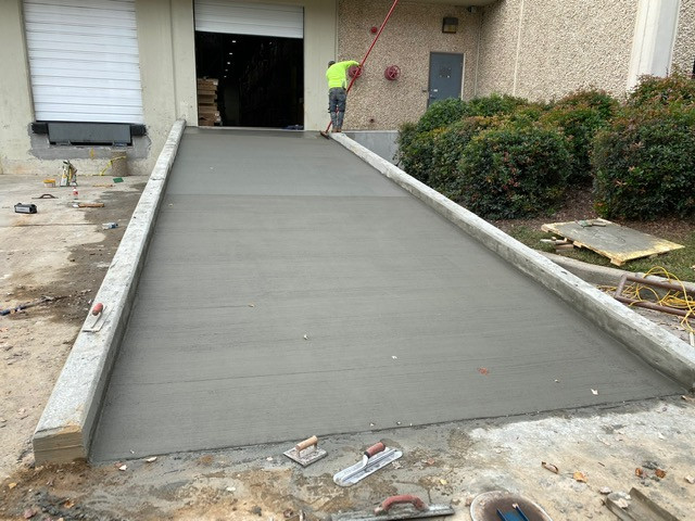 Warehouse Ramp tecnoconcrete