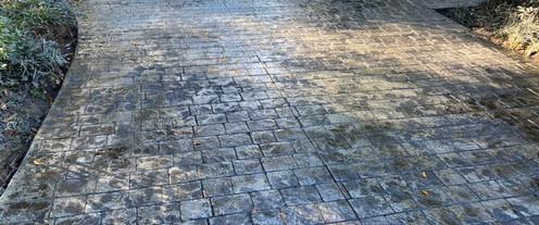 Stamped Driveway Stone tecnoconcrete.com