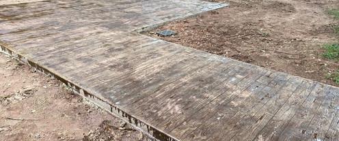 Wood Concrete Stamped tecnoconcrete.com.