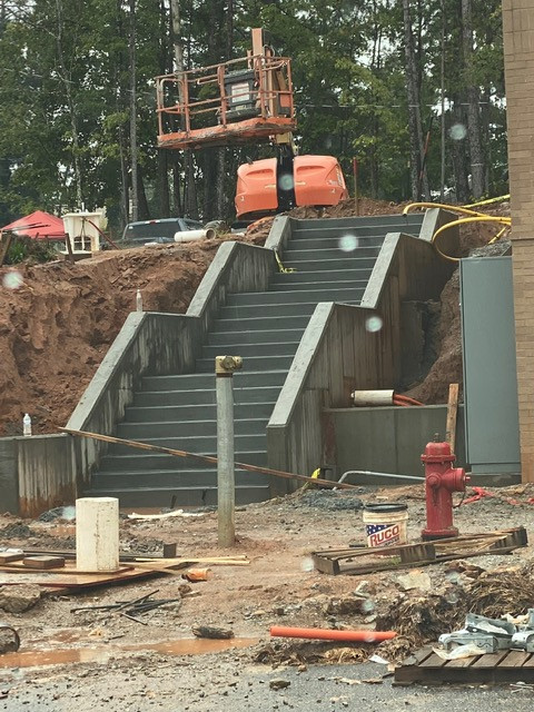 Concrete Steps and Walls Commercial tecn