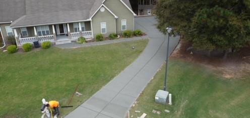 Driveway Replacement Stamped Apron tecnoconcrete