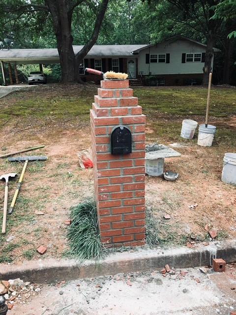 Brick Mailbox tecnoconcrete.com