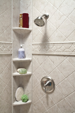 Brecchia_Tower_Caddy_with_Brecchia_Diamond_Walls_&_Listello_Trim_and_Brushed_Nickel_IMG_0570_HR_bci.