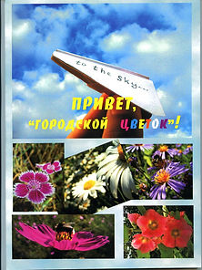 Елена Тимченко. Привет, городской цветок