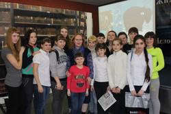 Встреча в молодежной библиотеке