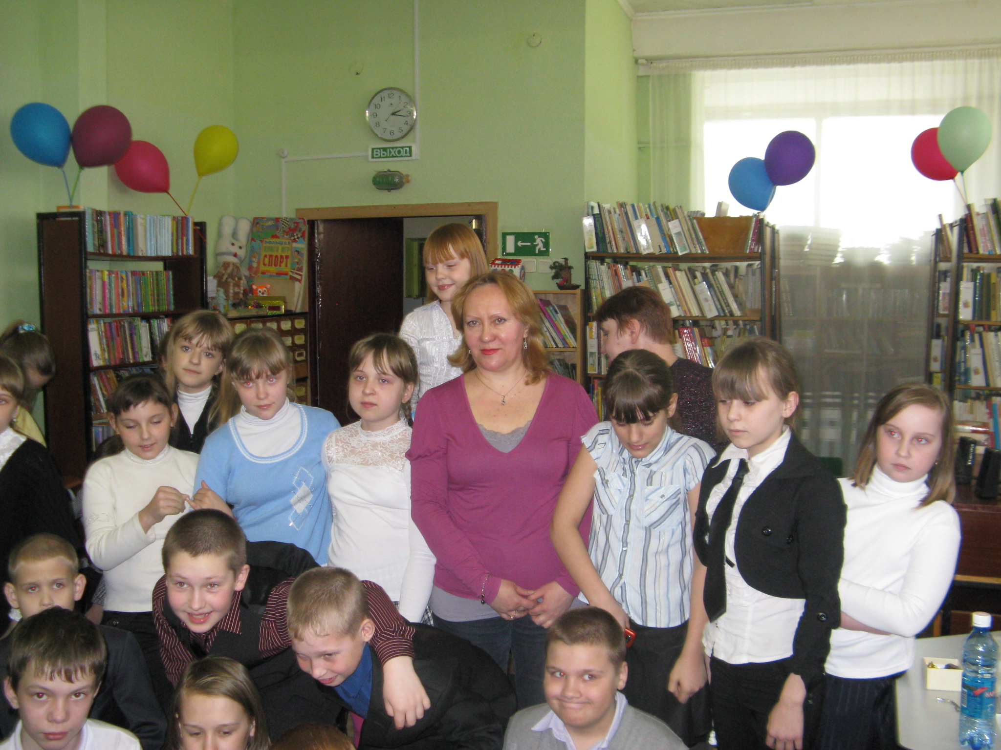 Встреча с читателями в Сосновоборске