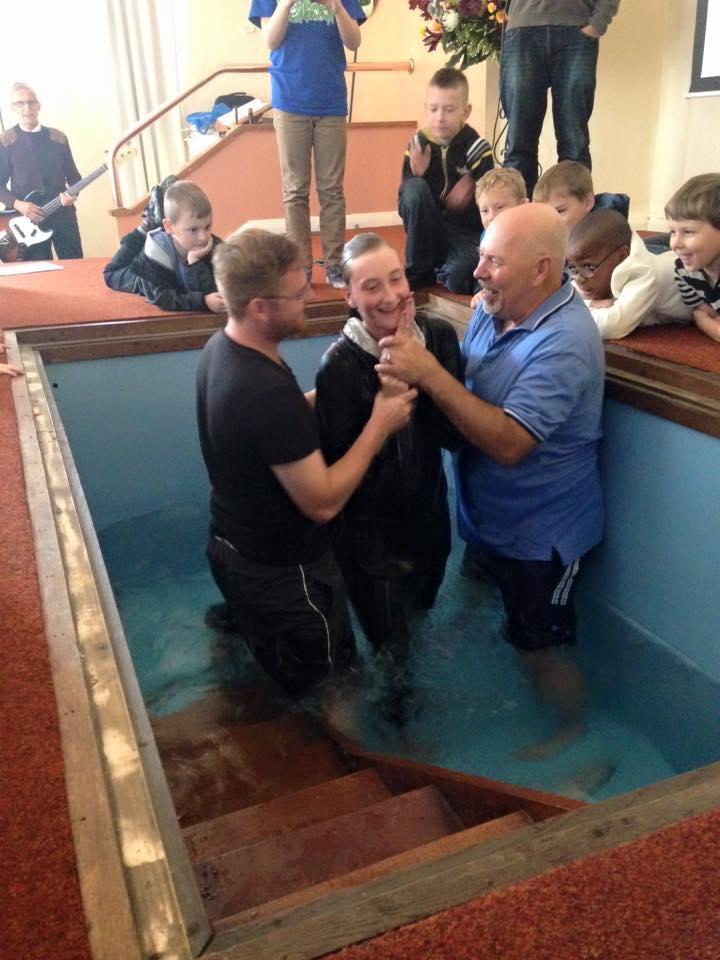Becca Baptism