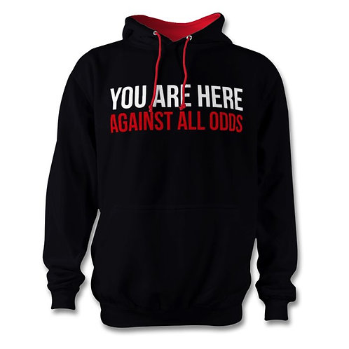 Against All Odds Black Hoodie