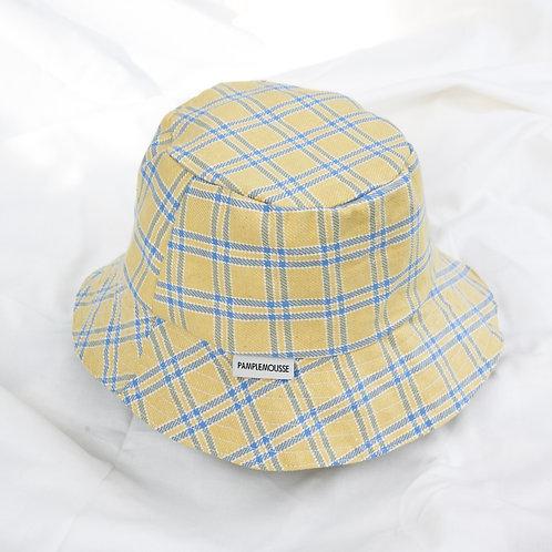 Yellow Plaid Bucket Hat