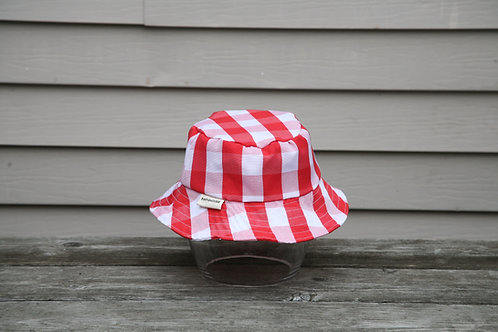 Red Gingham Bucket