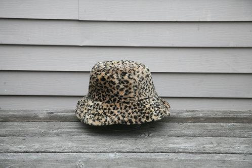 Fuzzy Leopard Bucket