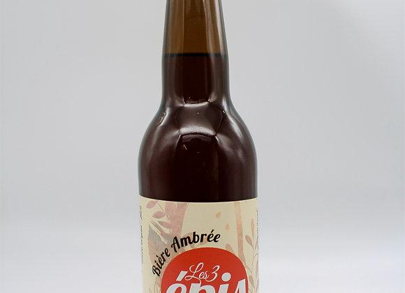 Bière ambrée 33 cl