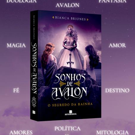 Lançamento: Sonhos de Avalon II - O Segredo da Rainha