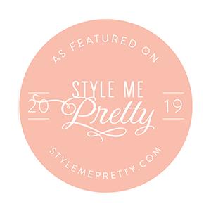 Referenciada em Style Me Pretty