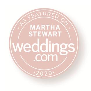 Referenciada em Martha Stewart Weddings
