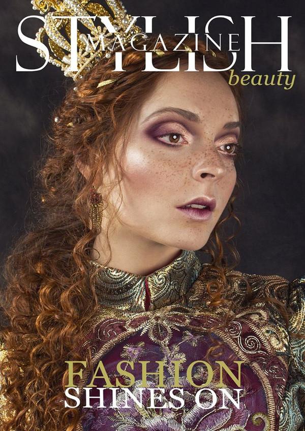 """Editorial Stylish Magazine """"Fashion Shines On"""""""