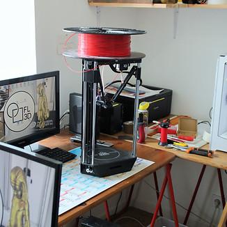 Nouvelle imprimante 3D pour notre bureau d'études