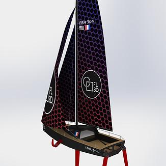 Modélisation 3D d'un Concept Boat