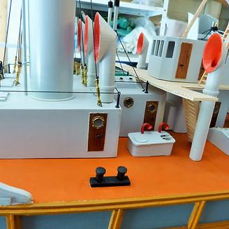 Impression 3D de manches à air pour maquette de drague