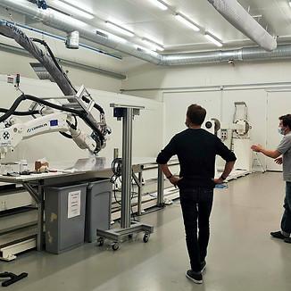 FL3D en visite au laboratoire de recherche Compositic à Ploemeur