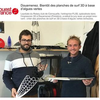Article du Ouest France Octobre 2020