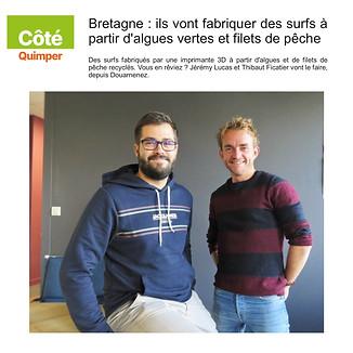 Article du Côté Quimper Octobre 2020