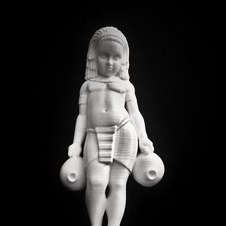 Impression 3D statuette Bolomig Ville de Douarnenez