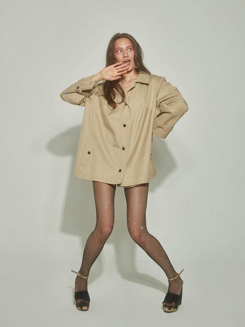 Twiggy raincoat