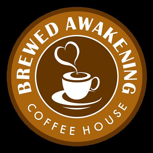 Brewed Awakening $35 Gift Card