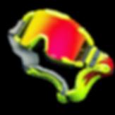 Zite SFX motocross goggle brave neon yellow