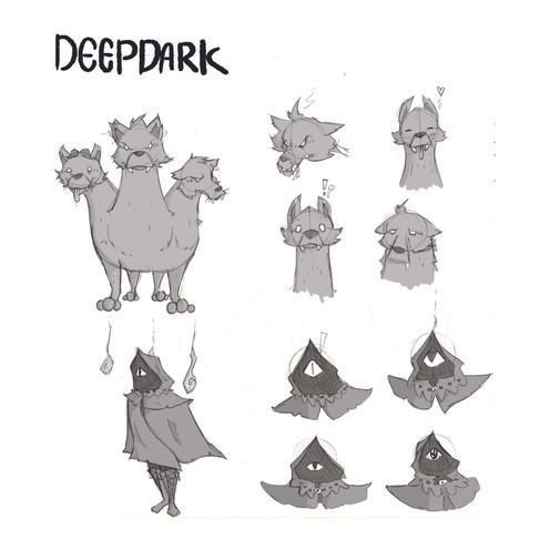 Deepdark - Cerberus and Dark Priest