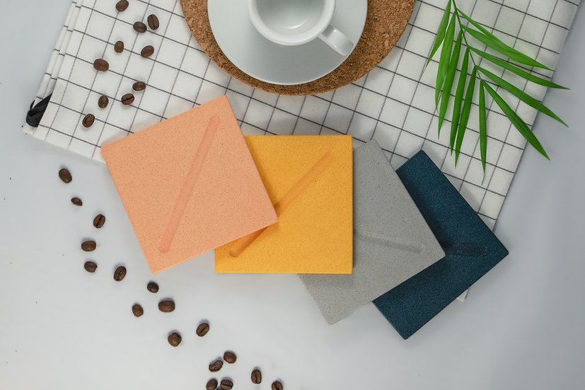 Square Coasters - By Adele Woodward