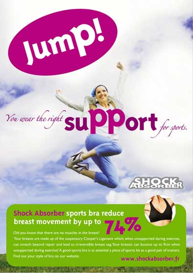 Playtex - Shock absorber