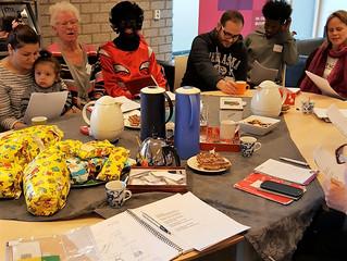Nieuwe Nieuwkopers maken kennis met het oer-Hollandse Sinterklaasfeest.