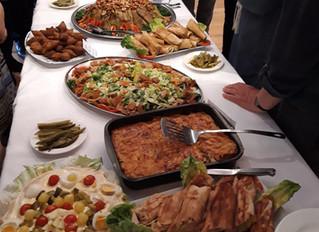 "Kookgroep maakt ""Syrisch buffet"""